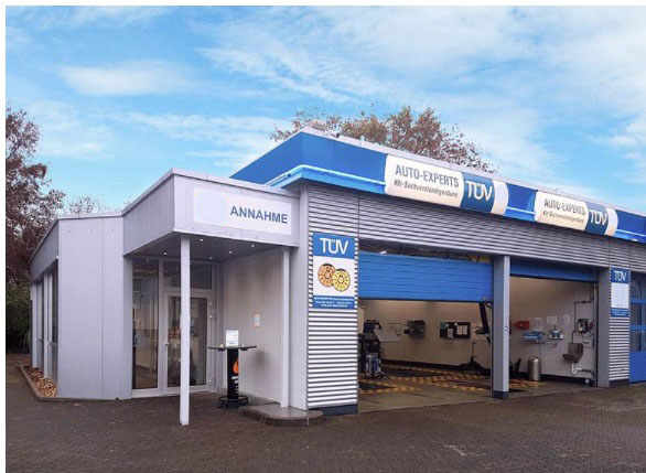 Firmengebäude Auto Experts Köln